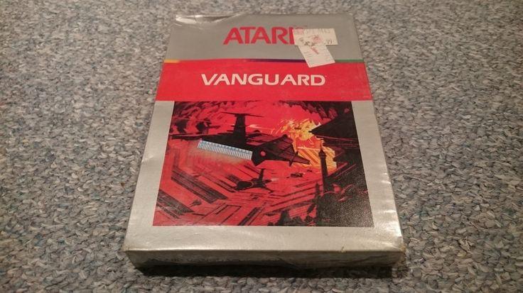 """Atari 2600 Game """"Vanguard"""" Sealed"""