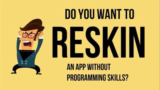 Android Reskin App Tutorial