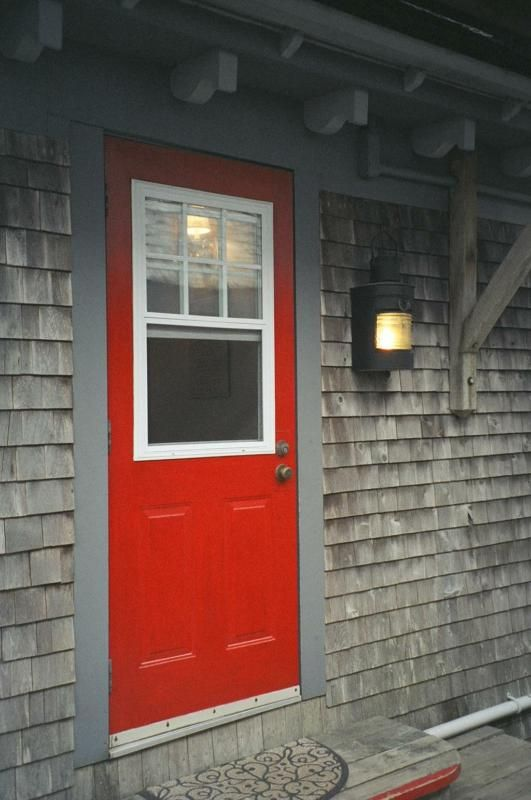 Red Door Grey House 57 best home: painted siding images on pinterest | architecture