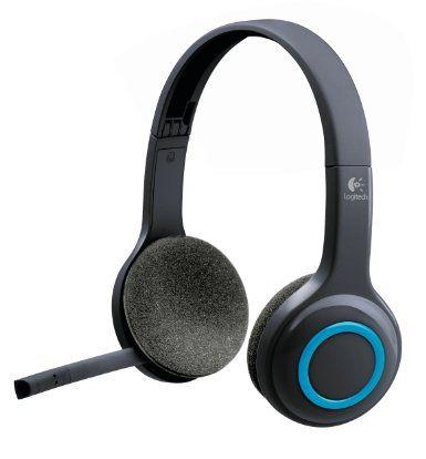 Logitech Wireless Headset H600 Micro-casque sans-fil Microphone anti-parasite Commandes simples placées sur l'oreillette Autonomie de 6 heur...