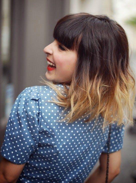 Model Rambut Pendek Sebahu / Short Hairstyle for Women #Shoulder #Short   http://modelrambuts.blogspot.com/2015/02/20-model-rambut-sebahu-wanita-2015.html