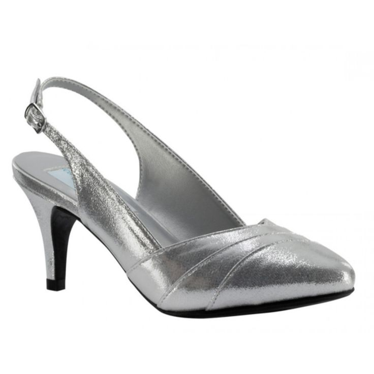 Poppy By Dyeables In Silver Bellissimabridalshoes Wedding ShoesWedding HeelsSilver