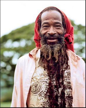LOCAL HEROES | Lion, Pantrepant's resident Rastafarian, was living on the farm when Chris Blackwell bought it. Photography by Jesse Chehak