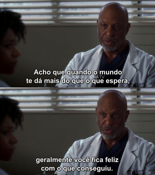 Grey's Anatomy Tumblr - Alguém disse na Tv