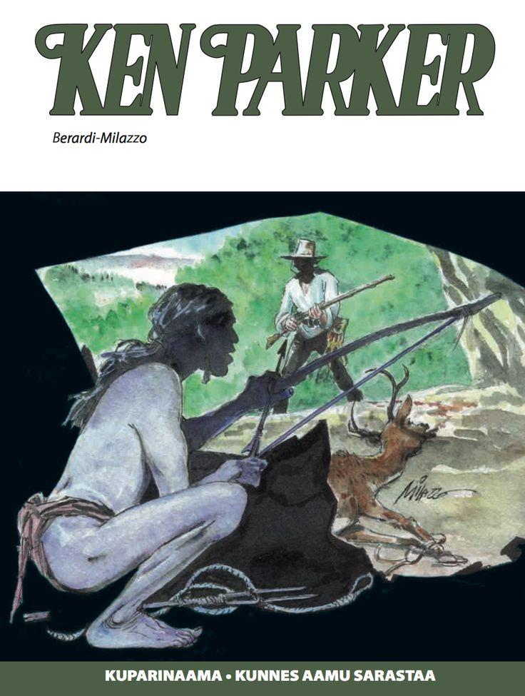 Viimeinen Ken Parker nyt lehtipisteissä! #KenParker #Western #sarjisparhaus
