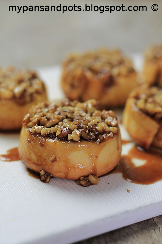 Cinnamon sticky buns | Live to eat...fabulous food | Pinterest
