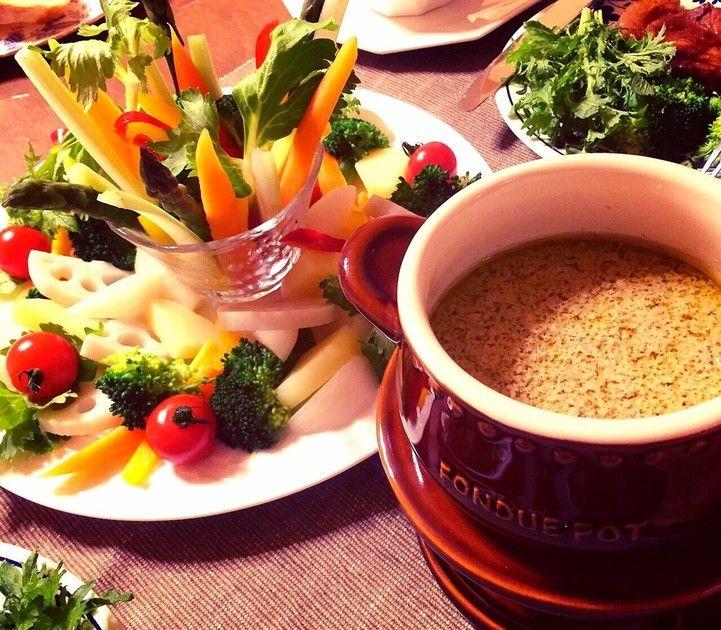 簡単に本格バーニャカウダで野菜モリモリ♪ by ゆっこF [クックパッド] 簡単おいしいみんなのレシピが224万品