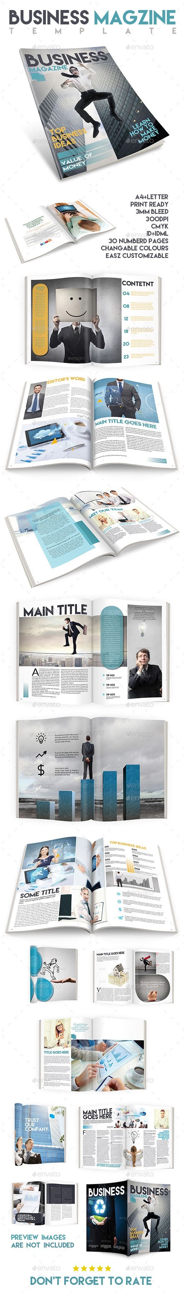 Business Magazine Template Issue Two