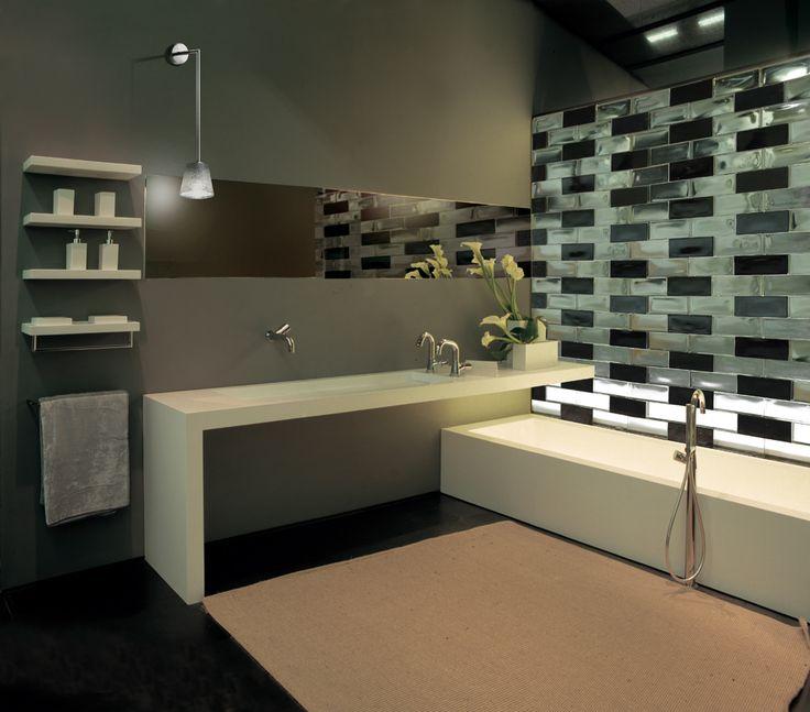 Glasbausteine badgestaltung  25 besten Glasbausteine Bilder auf Pinterest | Badezimmer ...