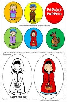 Fairy Tale Fun Activities-Fun With Little Red Riding Hood
