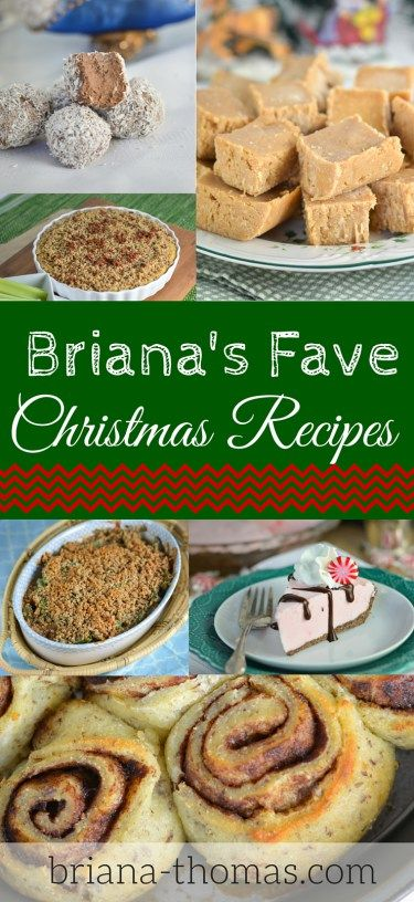 Here's a list of my favorite Christmas recipes from my website!  It's a BIG list.  Which one do you want to make first?