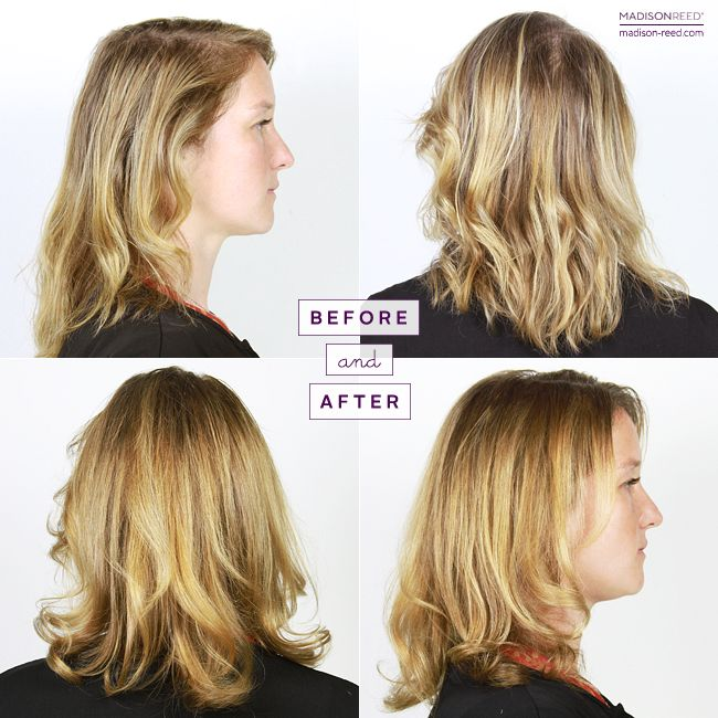 118 best before and after hair color results images on pinterest genevieve says goodbye to grays hello to golden locks hair glossmadison reedhaircolorher solutioingenieria Choice Image