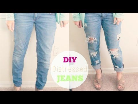 17 Best images about DIY on Pinterest | Daisy dukes ... Diy Distressed Boyfriend Jeans