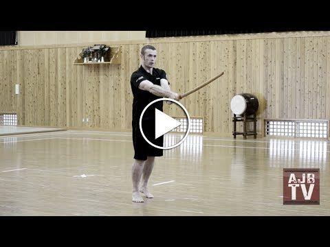 AJBTV : Basic Kendo Suburi (Practice Swings) - YouTube