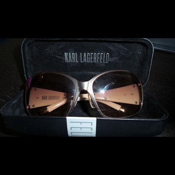 Authentic Karl Lagerfeld sunglasses price drop!!! Designer sunglasses authentic Accessories Sunglasses