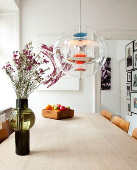 Verner Panton Globe lamp