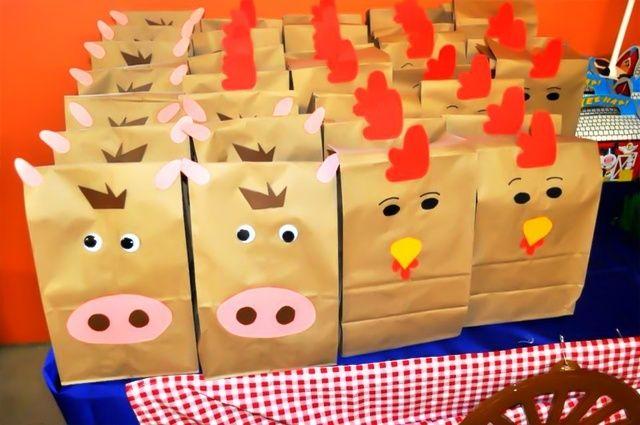 Favors at a Farm Party #farm #partyfavors