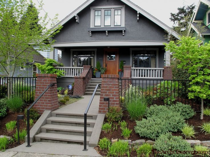 Best House Colors Images On Pinterest Doors Yellow Doors - Colors for red brick houses with siding