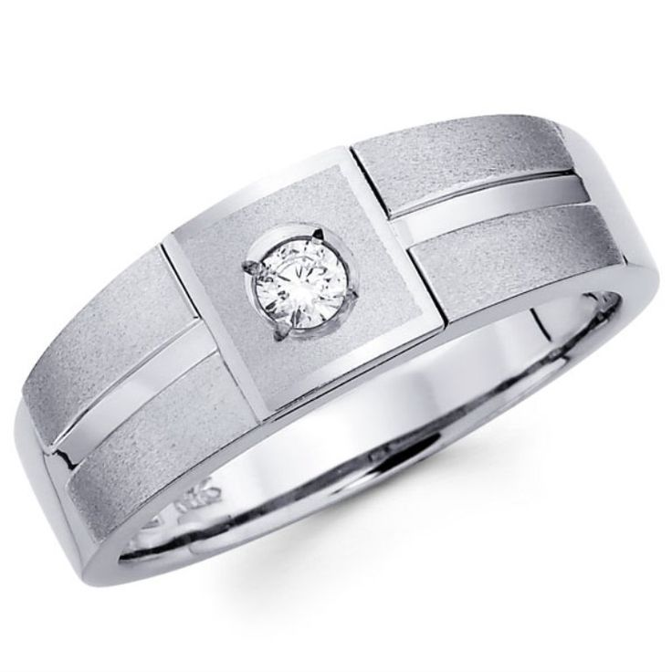 60 breathtaking marvelous diamond wedding bands for him her - Man Wedding Rings