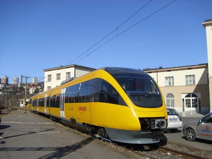 New train set on railways! Jancura's RegioJet!