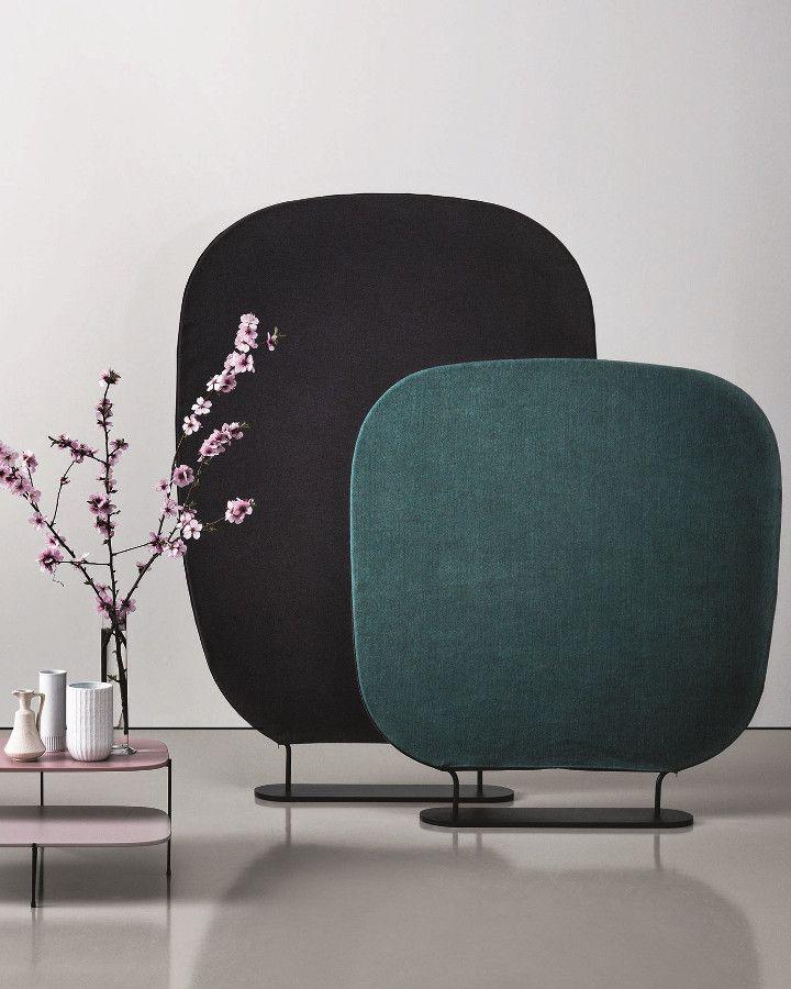 Fabric room divider SHADE by Saba Italia | #design Marco Zito