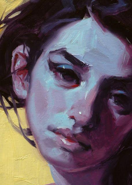 """Cool Shade"" (close-up), John Larriva art"