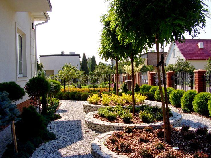 Garden-design.PROJEKTOWANIE OGRODÓW. PRZEDOGRÓDEK KIELCE.  OGRODY KIELCE.