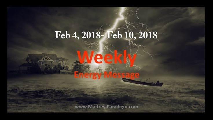 Conscious Living Weekly Energy Message for the week of Feb 4, 2018 thru ...