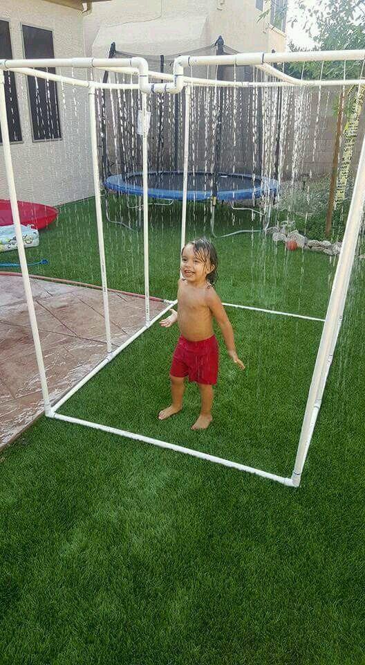 Homemade water sprinkler, waterfall for your kids Life Hacks (@LifeHacks) | Twitter