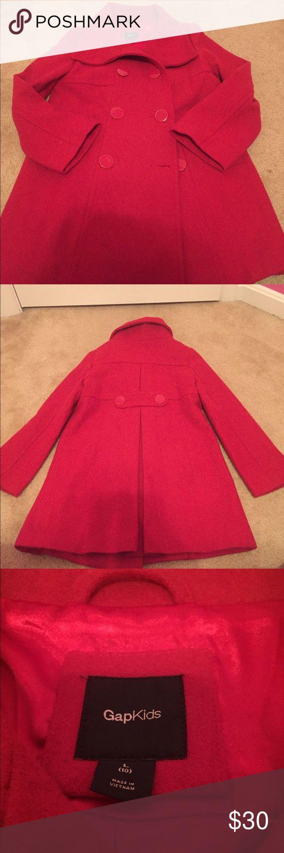 Gap Girls Peacoat Coat worn 2 times in excellent condition... GAP Jackets & Coats Pea Coats