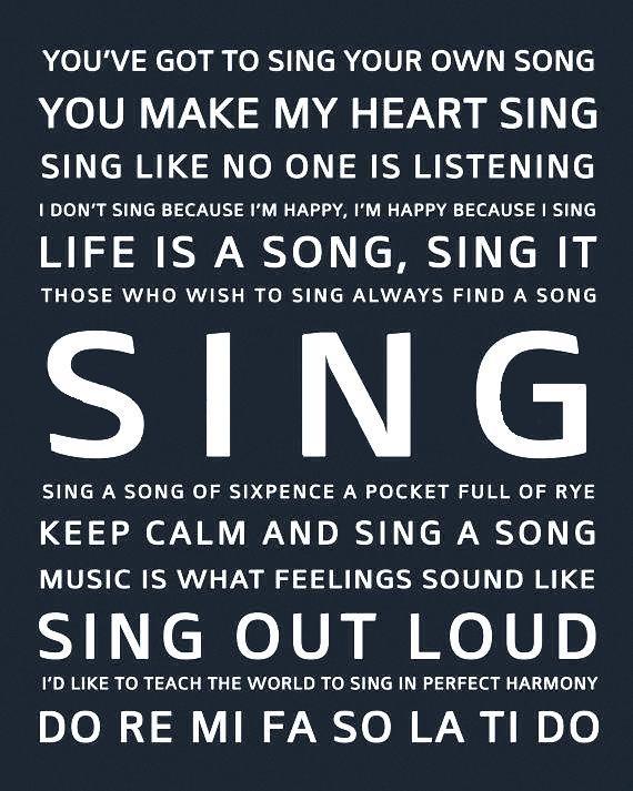 Citaten Over Zingen : Beste zingen citaten op pinterest muziek