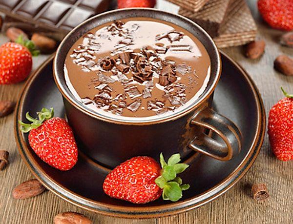 Luxusní horká čokoláda