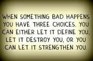 Define, Destroy, or Strengthen  #define, #destroy, #strength, #choices