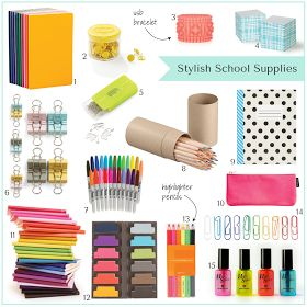17 best images about school office supplies on pinterest for Trendy office supplies