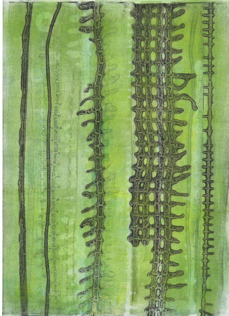 Sofia Windjusveen. Gelliprinting.