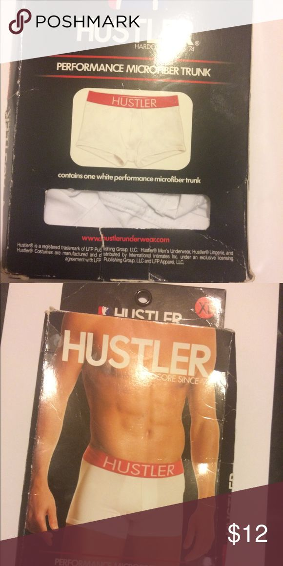 Hustler Performance Microfiber Men Trunk XL Microfiber performance trunk Men Underwear Size Extra Large .  The box that contains the item is crunched a bit but the item is never worn or damaged.. Trunks are shorter on the thighs than boxer briefs Hustler Underwear & Socks Boxer Briefs