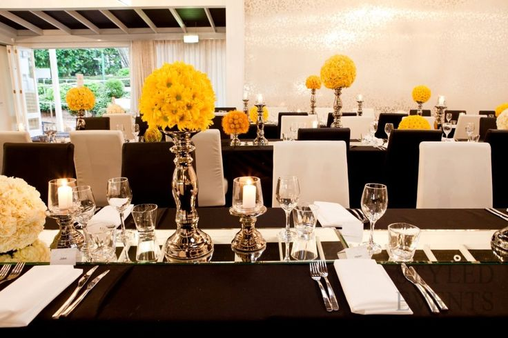 A PUNCH OF COLOUR Styled Events #styledevents #furniturehire #brisbaneevents #queensland #events #eventstyling #wedding #blackandwhite