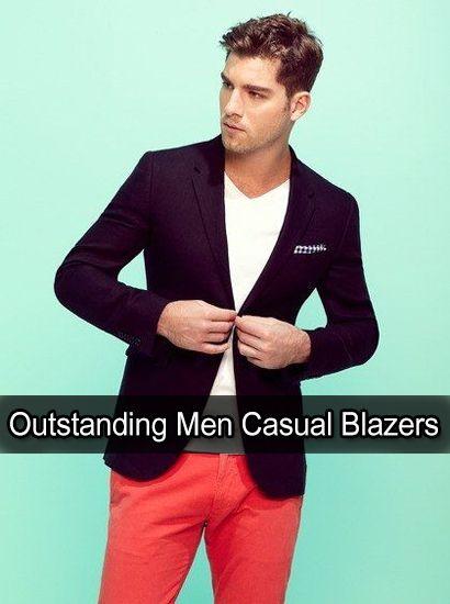 18 Outstanding Men Casual Blazers 2018