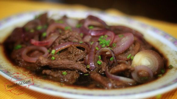 The Filipino version of steak isbistek. I used to think that bistek was a localized pronunciation and spelling of beef steak but it appears that bistec is found in the cuisines of countries that used to be Spanish colonies. Like our bistek, they are all pan fried and saucy beef. In cooking Filipino bistek, it …