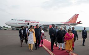 Photo:                   The New Times                                    Indian Vice-President Ansari, arrived with a delegation of government and private sector officials for a three-day visit.                   By Collins Mwai The Vice-President of India, Shri M Hamid...
