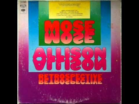 Mose Allison - Baby, Please Don't Go