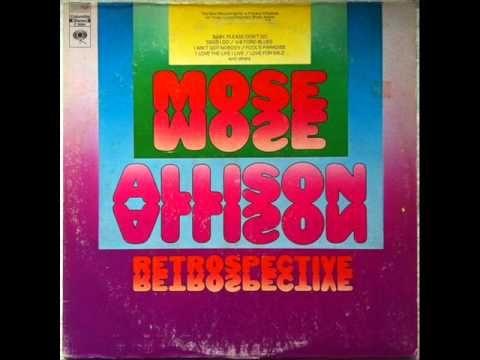 Mose Allison - Baby, Please Don't Go