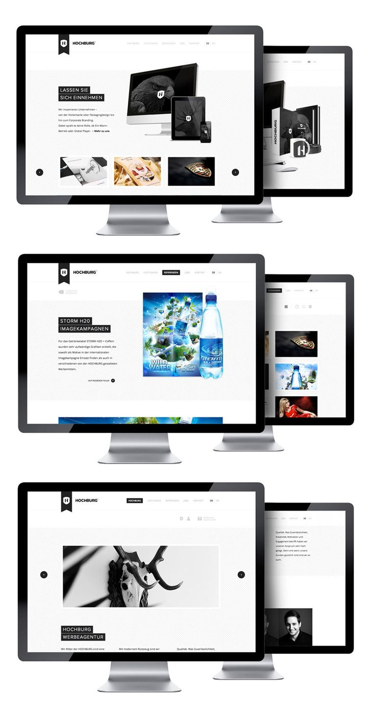 HOCHBURG Corporate Website: Corporate Website, Ideas Boards, Texts Ideas, Design Ideas, Website Layout, Website Design, Gebc Website