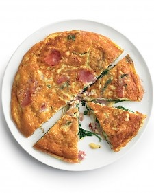 Home PageFoodFrittata with Ham and Spinach  Back to Easter Brunch Recipes  Frittata with Ham and Spinach