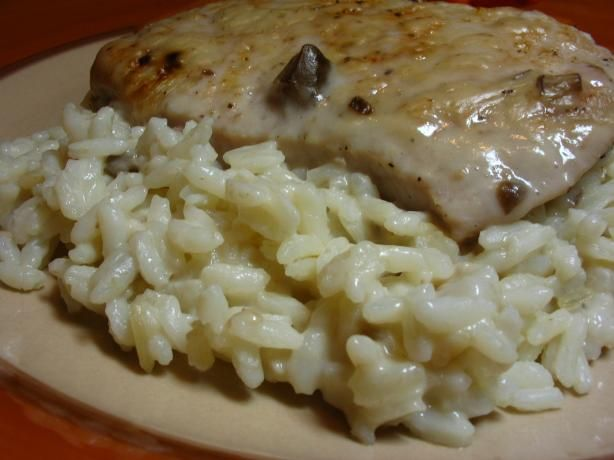 Pork Chops and Rice from Food.com: