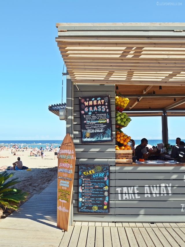 travel | barcelona citytrip - strandbar {chiringuito} la guingueta | luziapimpinella.com
