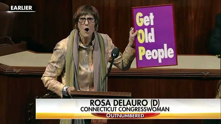 Dem congresswoman says GOP stands for 'Get Old People' — then promptly gets destroyed