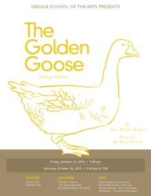"""Theater for Young Audiences presents """"The Golden Goose"""""""