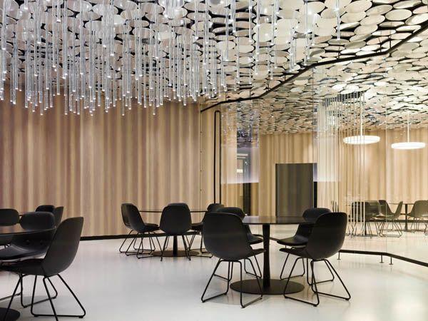 Unique Ceiling Ideas Modern Ceiling Design With Mirror