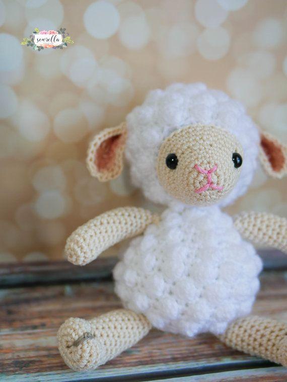 Kleines Lamm Crochet Amigurumi Muster Pdf sofortigen digitalen | Etsy